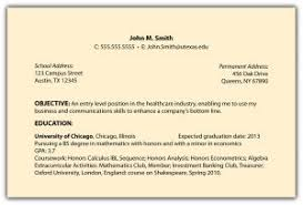 Samples Of A Good Resume by Examples Of Resumes 93 Wonderful Good Looking Resume Format