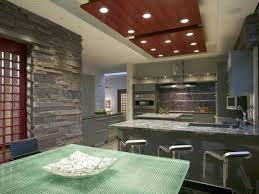 High End Kitchens by Design Natural Stone Wall Decoraion Grey Kitchen Design Modern