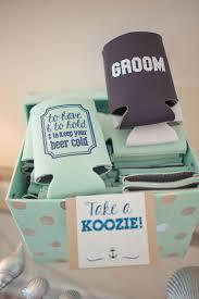 wedding gift koozies 23 most creative wedding favor koozies ideas for your wedding