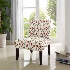 accent chairs dorel living teagan armless accent chair floral