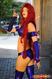 Starfire Costume Pin Tillagd Av Cosplay Hunter På Starfire Cosplay Teen Titans