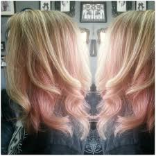 hair color 201 highlights with block pastel pink hair color