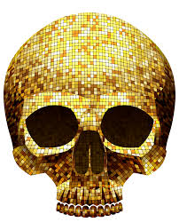 halloween png golden skull png clipart image gallery yopriceville high