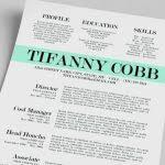 free creative resume template word best 25 free creative resume