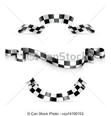 checkered ribbon checkered ribbons clipart vector search illustration drawings and