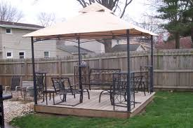 Patio Gazebo Replacement Covers by Garden Treasures Arch Gazebo Replacement Canopy 187859 Canopy
