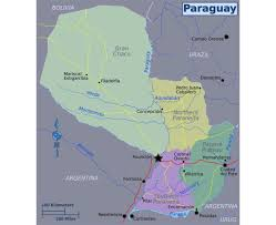 Regions Of South America Map by Maps Of Paraguay Detailed Map Of Paraguay In English Tourist