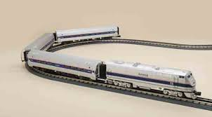 o railking amtrak amfleet set from mth electric trains