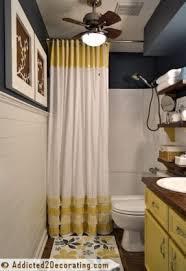 Cynthia Rowley Ruffle Shower Curtain Blue Yellow Shower Curtain Foter