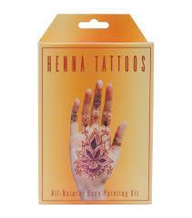 earth henna tattoo kit temporary henna tattoos joann