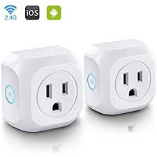 smart items for home smart plug wifi mini smart outlet compatible with alexa echo
