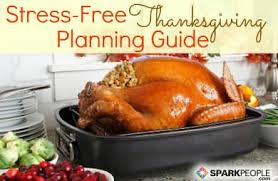 your stress free thanksgiving planning guide sparkpeople