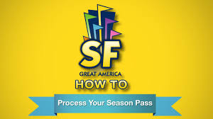 Discounted Six Flags Tickets How To Process Your Season Pass At Six Flags Great America Youtube