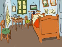 dessin chambre dessin à la tablette graphique le café rue mouffetard