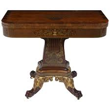 baker furniture game table baker furniture regency style game table with marquetry details for