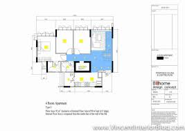 punggol 4 room hdb 207 lighting plan and final layout jpg 1189