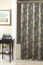 Light Grey Shower Curtain Accessories Exquisite Picture Of Bathroom Decoration Using Floral