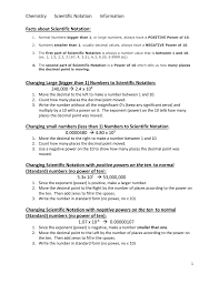 scientific notation information scientific notation info and