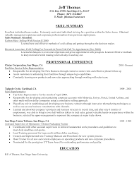 Outside Sales Resume Examples Outside Sales Rep Resume