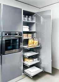 meuble cuisine coulissant placard tiroir coulissant les accessoires de cuisines
