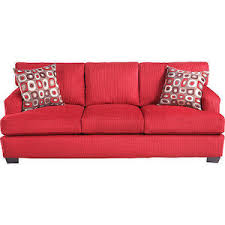 Rooms To Go Sofa Beds Allendale Red Sofa Rooms To Go Sofas Polyvore
