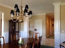 dining room fancy dining room decoration with brass chandelier
