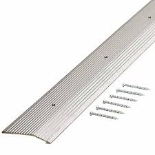 Laminate Flooring Threshold Trim Metal Transition Strips Flooring Tools U0026 Materials The Home