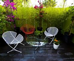 Old Metal Outdoor Furniture by Traditional Furniture Retro Patio Furniture Landscaping Network