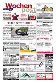 Massivholzm El Schreibtisch Die Wochenpost U2013 Kw 29 By Sdz Medien Issuu