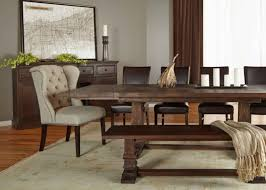 Java Dining Table Extension Rustic Java Dining Table