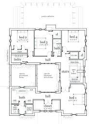 federal style house plans plans unique house plans