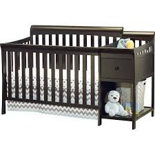 Baby Cribs 4 In 1 With Changing Table Sorelle Florence 4 In 1 Convertible Crib And Changer Combo
