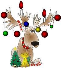 imagenes animadas de renos de navidad thanks for following me merry christmas all pin freely thanks