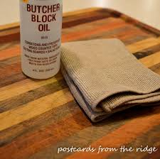 how to revive butcher block postcards from the ridge