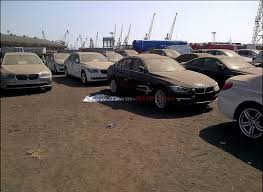 bmw car for sale in india 2012 bmw 3 series f30 spotted at mumbai port in india to be