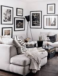 Beautiful Living Room Designs Grey Living Rooms Gallery Wall - Interior design black and white living room