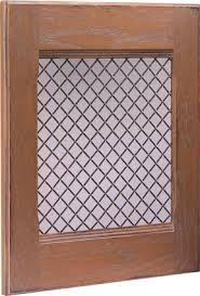 Cabinet Door Mesh Inserts Wire Mesh Insert Wood Mode Custom Cabinetry