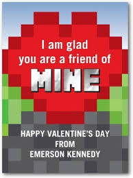 minecraft valentines cards 15 pop culture s day cards for kids comic con family