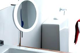 wall mounted magnifying mirror with light wall mounted magnifying mirror bathrooms design light up makeup