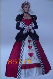 Queen Hearts Size Halloween Costume Size Queen Hearts Costumes Size Queen Hearts