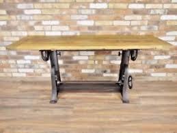 Draft Table Vintage Draft Table Industrial Dining Table Adjustable Height
