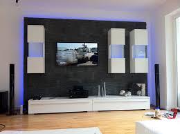 Schrankwand Wohnzimmer Modern Steinwand Im Wohnzimmer Marauders Info Design Moderne
