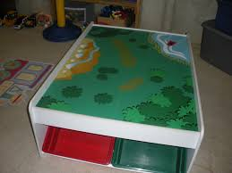 train table with storage plans home table decoration