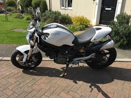 ducati monster 696 white in burton latimer northamptonshire