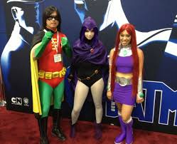 starfire costume wannabe at comic con let s get thrifty