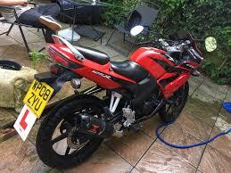 honda motorbike cbr cbr 125 125rw7 honda motorbike 125cc in waterlooville hampshire