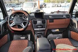 G Wagon 6x6 Interior Mercedes Benz G 63 6x6 Bi Turbo V8 Emad Motors