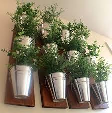 amazon com kate and laurel groves indoor vertical herb garden