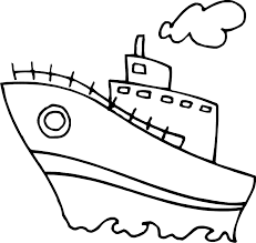 fishing boat colouring pages transport coloring pages clip art