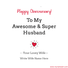 anniversary cards for anniversary wishes for husband with name edit wishes